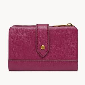 Fossil Lainie Multifunction Wallet in Purple